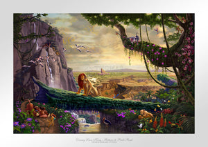 Disney Lion King - Return to Pride Rock - Limited Edition Paper - SN - (Unframed)