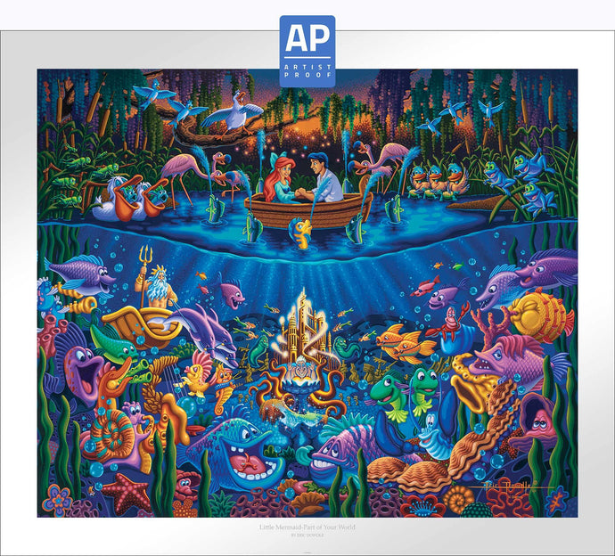 Little Mermaid - Part of Your World - Limited Edition Paper (AP - Artist Proof) - ArtOfEntertainment.com