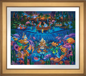 Little Mermaid - Part of Your World - Limited Edition Paper (SN - Standard Numbered) - ArtOfEntertainment.com