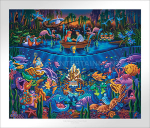 Little Mermaid - Part of Your World - Limited Edition Paper - SN - (Unframed)