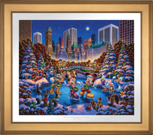 Load image into Gallery viewer, Mickey and Friends Skating in Central Park - Limited Edition Paper (SN - Standard Numbered) - ArtOfEntertainment.com