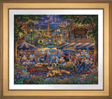 Load image into Gallery viewer, Mickey and Friends in Paris - Limited Edition Paper (AP - Artist Proof) - ArtOfEntertainment.com