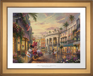 Minnie Rocks the Dots on Rodeo Drive - Limited Edition Paper (SN - Standard Numbered) - ArtOfEntertainment.com