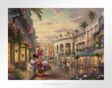Load image into Gallery viewer, Minnie Rocks the Dots on Rodeo Drive - Limited Edition Paper - SN - (Unframed)