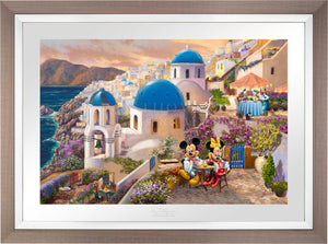 Disney Mickey and Minnie in Greece - Limited Edition Paper (SN - Standard Numbered)