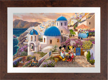 Load image into Gallery viewer, Disney Mickey and Minnie in Greece - Limited Edition Paper (SN - Standard Numbered)