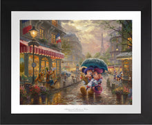 Load image into Gallery viewer, Mickey and Minnie in Paris - Limited Edition Paper (SN - Standard Numbered) - ArtOfEntertainment.com