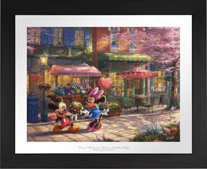 Mickey and Minnie - Sweetheart Cafe - Limited Edition Paper (SN - Standard Numbered) - ArtOfEntertainment.com