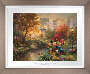 Mickey and Minnie - Sweetheart Central Park - Limited Edition Paper (SN - Standard Numbered) - ArtOfEntertainment.com