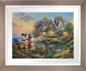 Mickey and Minnie - Sweetheart Cove - Limited Edition Paper (SN - Standard Numbered) - ArtOfEntertainment.com
