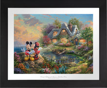 Load image into Gallery viewer, Mickey and Minnie - Sweetheart Cove - Limited Edition Paper (SN - Standard Numbered) - ArtOfEntertainment.com