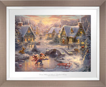 Load image into Gallery viewer, Mickey and Minnie - Sweetheart Holiday - Limited Edition Paper (SN - Standard Numbered) - ArtOfEntertainment.com