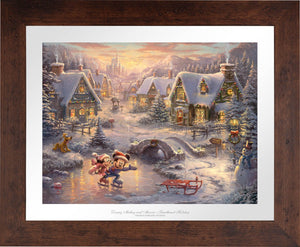Mickey and Minnie - Sweetheart Holiday - Limited Edition Paper (SN - Standard Numbered) - ArtOfEntertainment.com