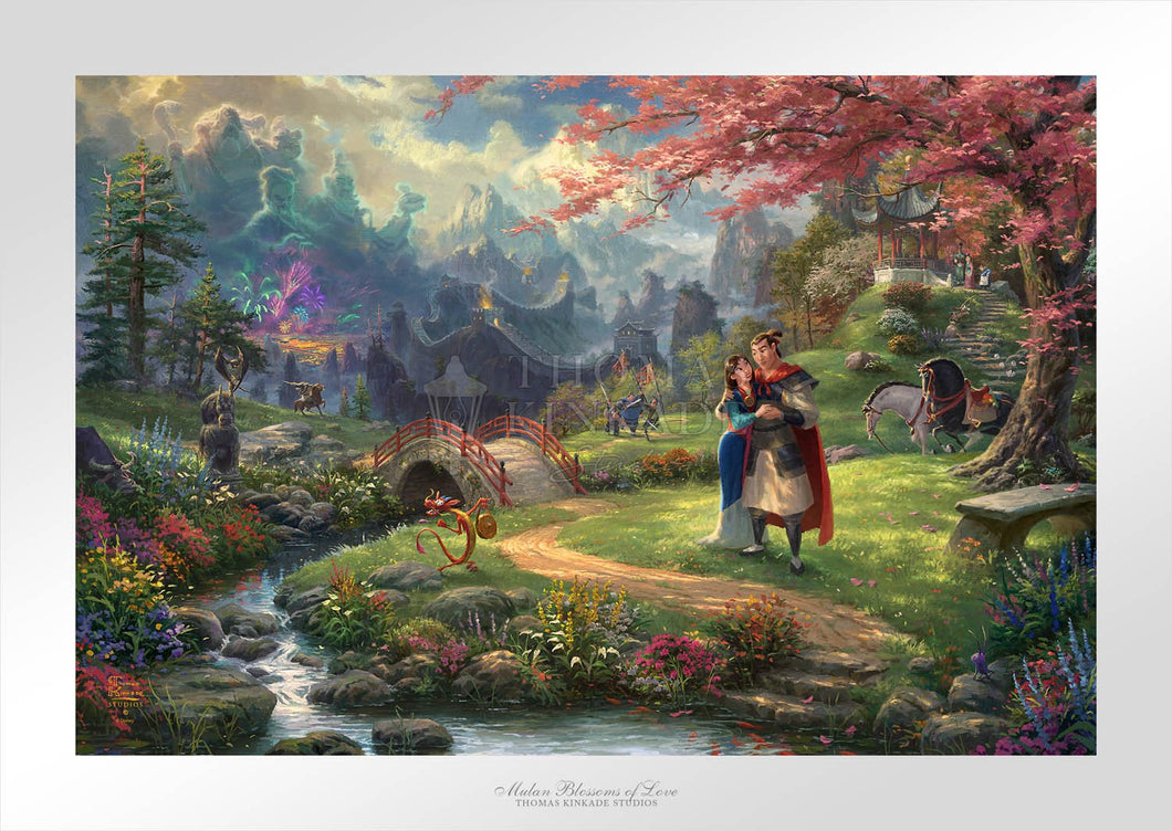 Mulan Blossoms of Love - Limited Edition Paper - SN - (Unframed)
