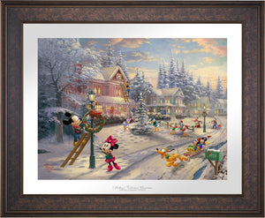 Mickey's Victorian Christmas - Limited Edition Paper (SN - Standard Numbered) - ArtOfEntertainment.com