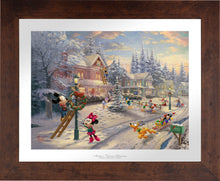 Load image into Gallery viewer, Mickey's Victorian Christmas - Limited Edition Paper (SN - Standard Numbered) - ArtOfEntertainment.com