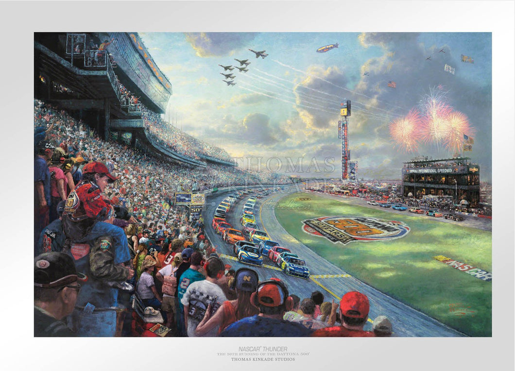 NASCAR Thunder - Limited Edition Paper - SN - (Unframed)