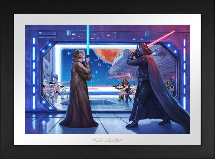 Obi-Wan's Final Battle - Limited Edition Paper (SN - Standard Numbered) - ArtOfEntertainment.com