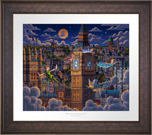 Load image into Gallery viewer, Peter Pan Learning to Fly - Limited Edition Paper (AP - Artist Proof)