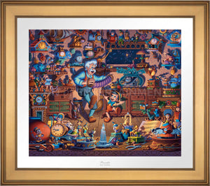 Pinocchio - Limited Edition Paper (AP - Artist Proof)