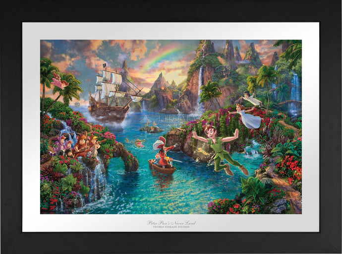 Peter Pan's Never Land - Limited Edition Paper (SN - Standard Numbered) - ArtOfEntertainment.com