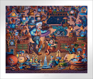 Pinocchio - Limited Edition Paper - AP - (Unframed)