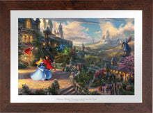 Load image into Gallery viewer, Sleeping Beauty Dancing in the Enchanted Light - Limited Edition Paper (SN - Standard Numbered) - ArtOfEntertainment.com