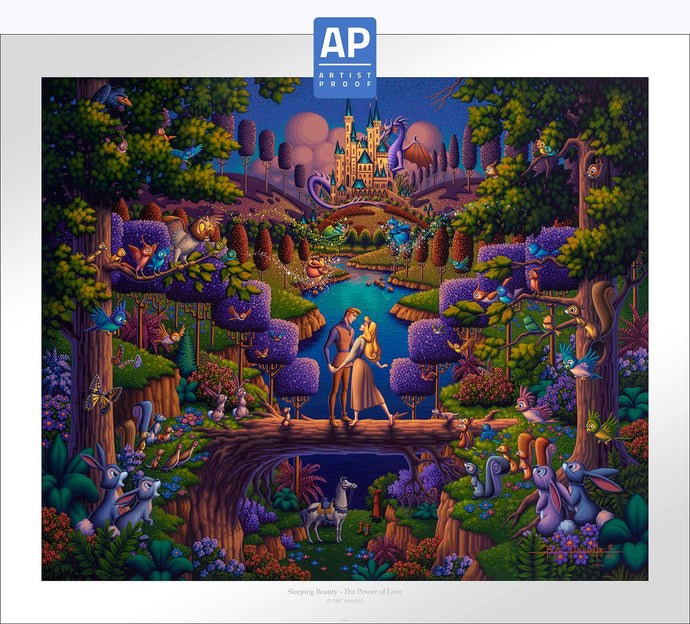 Sleeping Beauty - The Power of Love - Limited Edition Paper (AP - Artist Proof) - ArtOfEntertainment.com