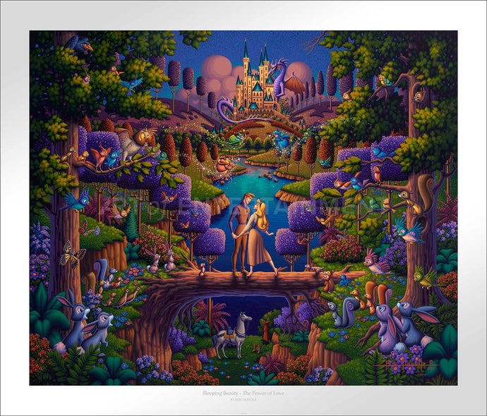 Sleeping Beauty - The Power of Love - Limited Edition Paper - SN - (Unframed)