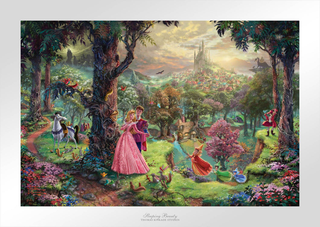 Sleeping Beauty - Limited Edition Paper - SN - (Unframed)