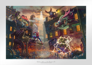 Spider-Man vs. the Sinister Six - Limited Edition Paper - SN - (Unframed)