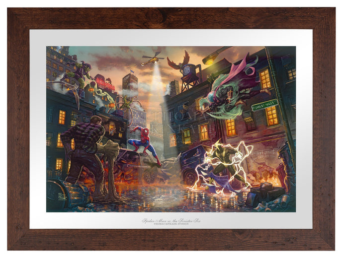 Spider-Man vs. the Sinister Six - Limited Edition Paper (SN - Standard Numbered) - ArtOfEntertainment.com
