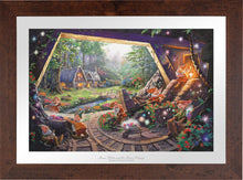 Load image into Gallery viewer, Snow White and the Seven Dwarfs - Limited Edition Paper (SN - Standard Numbered) - ArtOfEntertainment.com