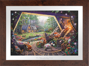 Snow White and the Seven Dwarfs - Limited Edition Paper (SN - Standard Numbered) - ArtOfEntertainment.com
