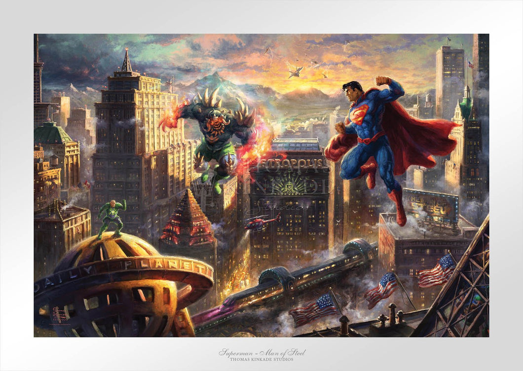 Superman - Man of Steel - Limited Edition Paper - SN - (Unframed)