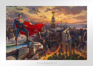 Superman - Protector of Metropolis - Limited Edition Paper - SN - (Unframed)