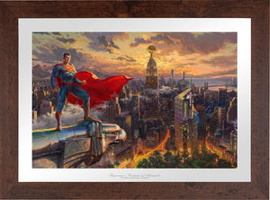 Superman - Protector of Metropolis - Limited Edition Paper (SN - Standard Numbered) - ArtOfEntertainment.com