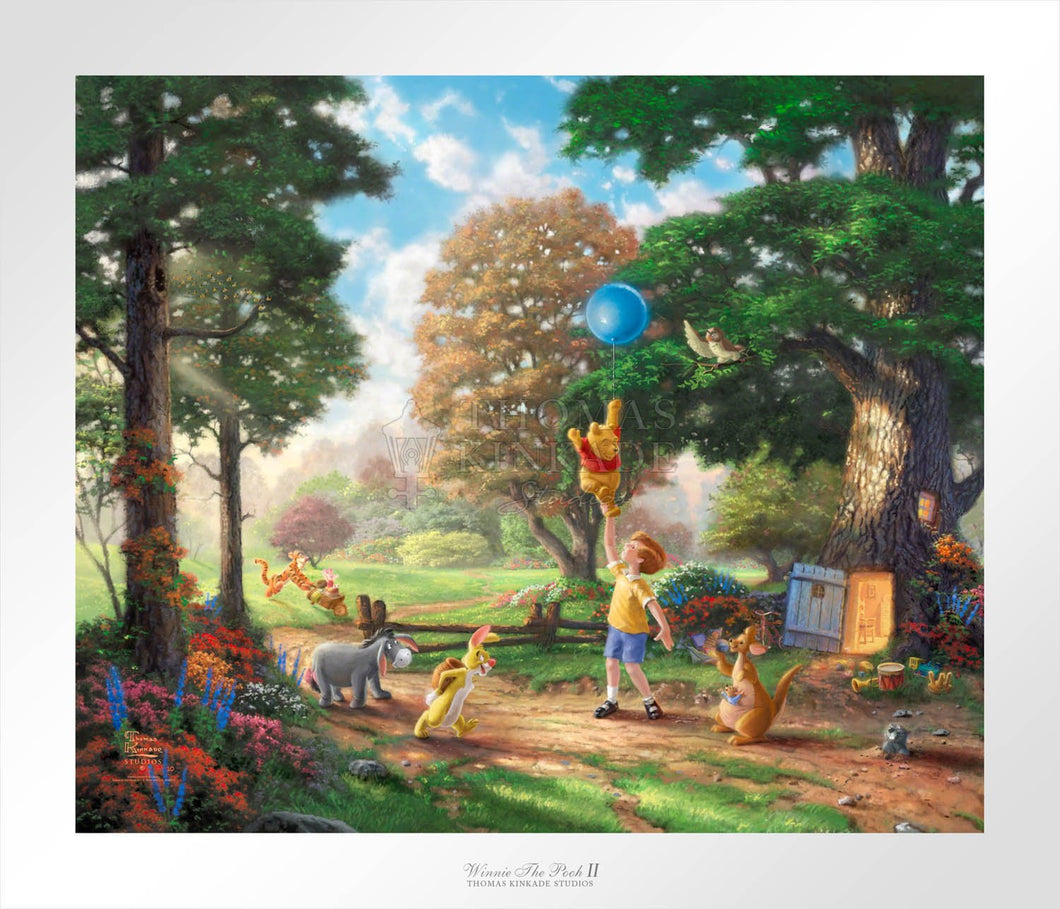 Winnie The Pooh II - Limited Edition Paper - SN - (Unframed)