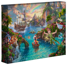 Load image into Gallery viewer, Peter Pan's Never Land - Gallery Wrapped Canvas - ArtOfEntertainment.com