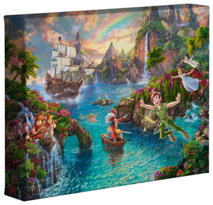 Peter Pan's Never Land - Gallery Wrapped Canvas - ArtOfEntertainment.com
