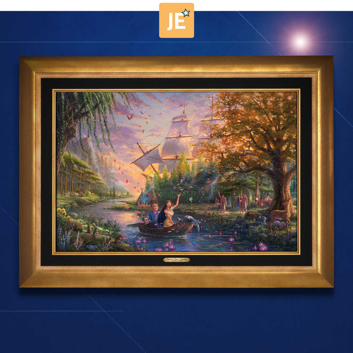 Pocahontas - Limited Edition Canvas (JE - Jewel Edition) - ArtOfEntertainment.com