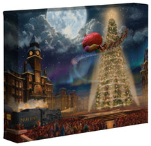 Load image into Gallery viewer, The Polar Express - Gallery Wrapped Canvas - ArtOfEntertainment.com