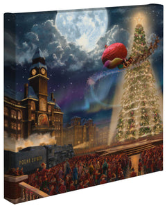 "The Polar Express - 14"" x 14"" Gallery Wrapped Canvas 66086"
