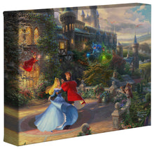 Load image into Gallery viewer, Sleeping Beauty Dancing in the Enchanted Light - Gallery Wrapped Canvas - ArtOfEntertainment.com
