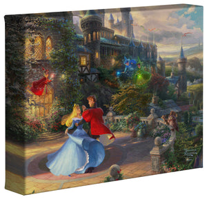 Sleeping Beauty Dancing in the Enchanted Light - Gallery Wrapped Canvas - ArtOfEntertainment.com