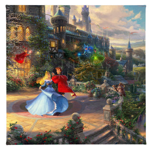 Gallery Wrapped Canvas Sleeping Beauty Dancing in the Enchanted Light