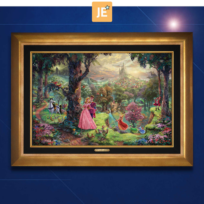 Sleeping Beauty - Limited Edition Canvas (JE - Jewel Edition) - ArtOfEntertainment.com