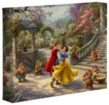 Load image into Gallery viewer, Snow White Dancing in the Sunlight - Gallery Wrapped Canvas - ArtOfEntertainment.com