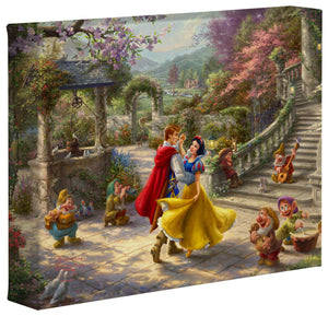 Snow White Dancing in the Sunlight - Gallery Wrapped Canvas - ArtOfEntertainment.com