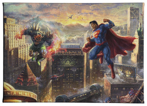Gallery Wrapped Canvas Superman - Man of Steel